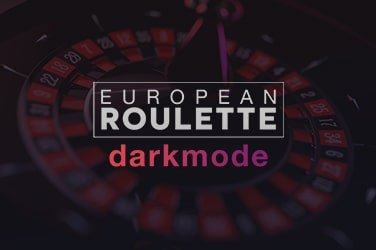 European Roulette Darkmode
